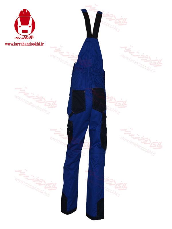 لباس صنعتی دوبنده حرفه ای